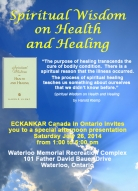 Spiritual Wisdom on Health and Healing